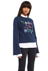 Opening Ceremony Take A Hike Sweatshirt Deep Navy
