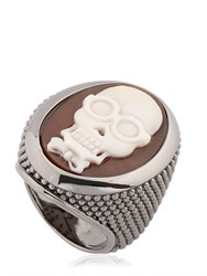 Amedeo Thimble Cameo Ring