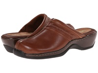Softwalk Abby Cognac Women's Clog Mule Shoes Tan