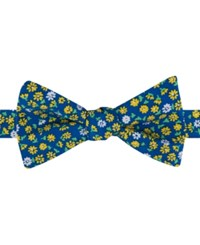 Tommy Hilfiger Men's Flower Field To Tie Bow Tie Yellow