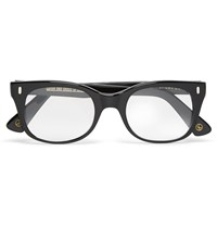 Kingsman Cutler And Gross Square Frame Acetate Optical Glasses Black