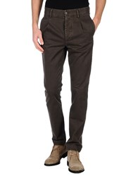 Met And Friends Trousers Casual Trousers Men Dark Brown