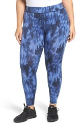 Michael Michael Kors Plus Size Women's Tie Dye Twill Print Leggings