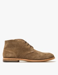 Hudson Houghton 3 Suede In Tobacco