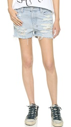 Ksubi Lovelock Shorts Albino Bleach Destroy