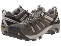 Keen Utility Flint Low Gargoyle Forest Night Men's Work Lace Up Boots Black