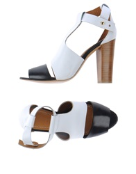 Lemaire High Heeled Sandals White