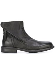 Bruno Bordese Zipped Lateral Boots Black