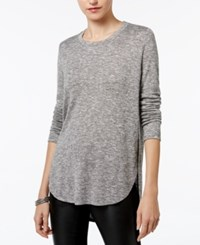 Bar Iii High Low Top Only At Macy's Heather Grey
