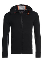 Superdry Sport Gym Tech Tracksuit Top Black