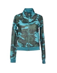Fly Down Jackets Turquoise