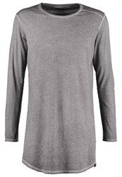 Boom Bap Storm Long Sleeved Top Chumbo Grey