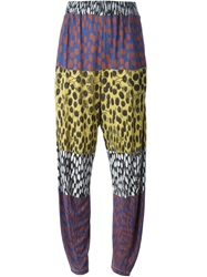 Henrik Vibskov 'Anna Is Jumping' Trousers Pink And Purple