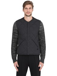 Adidas By Wings And Horns Water Resistant Quilted Primaloft Vest