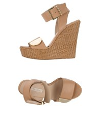Pura Lopez Footwear Sandals Women Skin Color