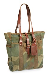 Polo Ralph Lauren Camo Canvas Tote
