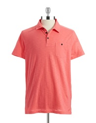Kenneth Cole Pocket Polo Shirt Melon