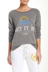 Rebel Yell Let It Be Lil Sis Lounger Gray
