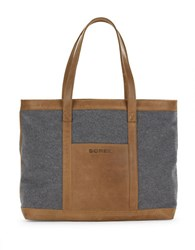 Sorel Leather Trimmed Wool Tote Elk