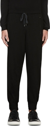 Kolor Black Wool Lounge Pants
