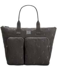 Tommy Hilfiger Training Plus Ii Extra Large Zip Tote Black Tonal