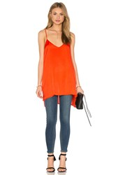 Heather Woven Cami Tunic Orange