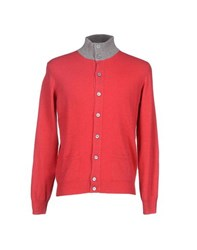 Della Ciana Knitwear Cardigans Men Red