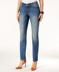 Inc International Concepts Curvy Gardenia Wash Skinny Jeans Only At Macy's