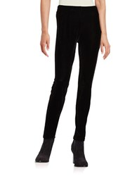 California Moonrise Velour Leggings Black