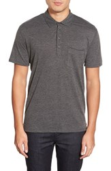 Men's 7 For All Mankind Trim Fit Raw Edge Jersey Polo