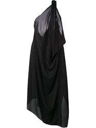 Lost And Found Ria Dunn Long Draped Dress Black