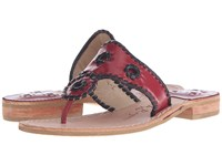 Jack Rogers Spirit Garnet Black Women's Shoes Mahogany