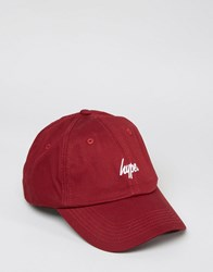 Hype Baseball Cap Red