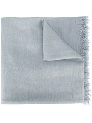 Dondup Frayed Scarf Grey