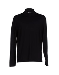 Zanone Knitwear Turtlenecks Men Black