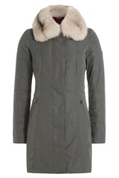 Peuterey Down Coat With Fox Fur Gr. It 40