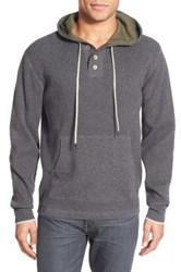 Agave 'Reuben' Hooded Sweater Gray