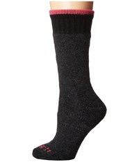 Carhartt Heavyweight Merino Wool Blend Boot Sock Charcoal Women's Crew Cut Socks Shoes Gray