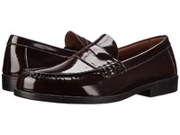 Bass Walton Burgundy Leather Men's Slip On Dress Shoes