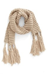 Women's Bp. Fringe Knit Scarf