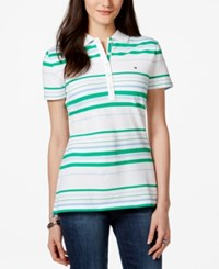 Tommy Hilfiger Striped Polo Top