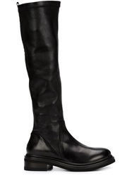 Buttero Knee High Boots Black