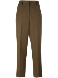 Golden Goose Deluxe Brand Tailored Trousers Green