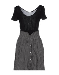 Terre Alte Short Dresses Black