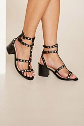Forever 21 Studded Strappy Sandals