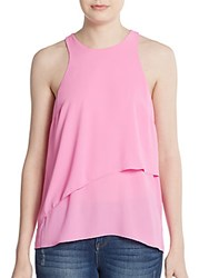 Elizabeth And James Cheridah Layered Tank Top Pink