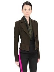 Haider Ackermann Military Cool Wool Jacket