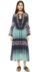 Clover Canyon Autumn Ombre Dress Green