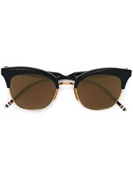 Thom Browne Cat Eye Shaped Sunglasses Blue