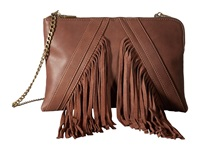 Steve Madden Blenora Clutch Cognac Clutch Handbags Tan